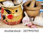 Ceramic Garlic Pot  Garlic...