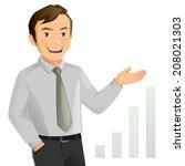 businessman | Shutterstock .eps vector #208021303