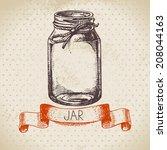 Rustic  Mason And Canning Jar....