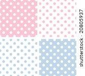 seamless tiles  large white... | Shutterstock .eps vector #20805937