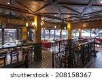 interior of a irish pub | Shutterstock . vector #208158367