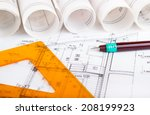 architectural project | Shutterstock . vector #208199923