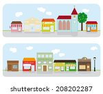 architecture,awnings,bank,bar,barber,boutique,building,business,church,city,clouds,colorful,flat design,hall,house