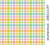 seamless pattern with colorful... | Shutterstock .eps vector #208211197