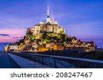 Mont Saint Michel Normandy...