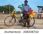 galle  sri lanka   march 5 ... | Shutterstock . vector #208338763