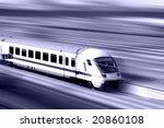 modern high speed train 2
