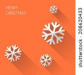 modern simple minimalistic... | Shutterstock .eps vector #208620433