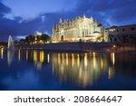Cathedral Of Palma De Majorca...