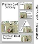 vector.vector. business card...   Shutterstock .eps vector #208722253