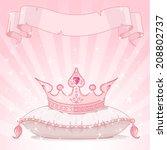 shiny background with princess