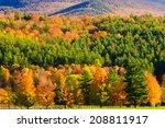 fall foliage mountain range ... | Shutterstock . vector #208811917