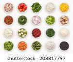 composite with many different... | Shutterstock . vector #208817797