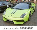 Постер, плакат: Lamborghini Gallardo on