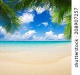 beach | Shutterstock . vector #208907257