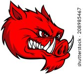 aggression,and,anger,animals,conflict,displeased,domestic,fighting,fitness,furious,helmet,in,mascot,pig,razorback
