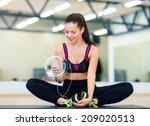 fitness  sport  training ... | Shutterstock . vector #209020513