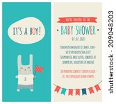"baby shower invitation ""it's a... 