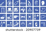 collection of various medical... | Shutterstock .eps vector #20907739