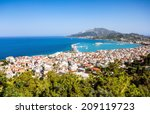 Zakynthos Island City Bay