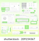 eco green color concept for a...