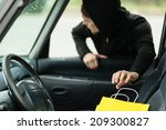 transportation  crime and... | Shutterstock . vector #209300827