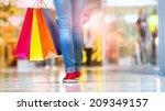 shopping time  closeup of... | Shutterstock . vector #209349157
