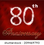 80,80th,anniversary,art,background,birthday,bright,card,celebration,cheerful,congratulation,day,dimonds,eighty,event