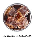lemonade with ice | Shutterstock . vector #209608627