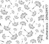 vector illustration seamless...   Shutterstock .eps vector #209639977