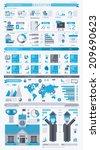 education info graphic  vector... | Shutterstock .eps vector #209690623