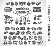 the biggest set of flat casino...