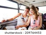 friendship  summer vacation ... | Shutterstock . vector #209764453