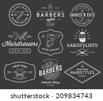 vector badges for any use | Shutterstock .eps vector #209834743