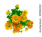 Yellow Chrysanthemum Bouquet...
