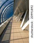 pedestrian bridge near the... | Shutterstock . vector #20991892