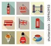 london icons | Shutterstock .eps vector #209963953