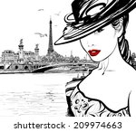 alexander,alexandre,ancient,architecture,beautiful,bridge,clip-art,drawing,eiffel,elegance,europe,european,fashion,france,hat