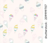 seamless pattern background...   Shutterstock .eps vector #209999707