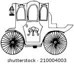 brougham  | Shutterstock .eps vector #210004003