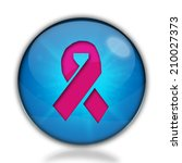 breast cancer ribbon icon.... | Shutterstock . vector #210027373