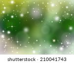 starry festive background | Shutterstock . vector #210041743