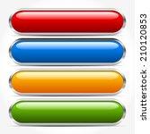 bars  buttons  banners | Shutterstock .eps vector #210120853