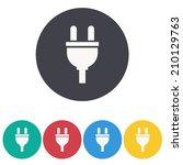 plugs icon,vector illustration