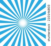 blue burst background. vector... | Shutterstock .eps vector #210146803