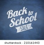 composite image of back to... | Shutterstock . vector #210161443