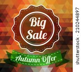 Sale Badge  Autumn Sale Label ...