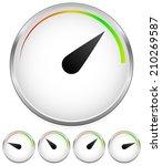 simple dial  meter templates....