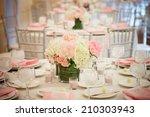 wedding reception room interior ...   Shutterstock . vector #210303943