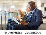 young african american... | Shutterstock . vector #210385003